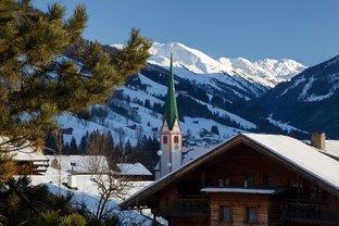Dorfzentrum von Alpbach