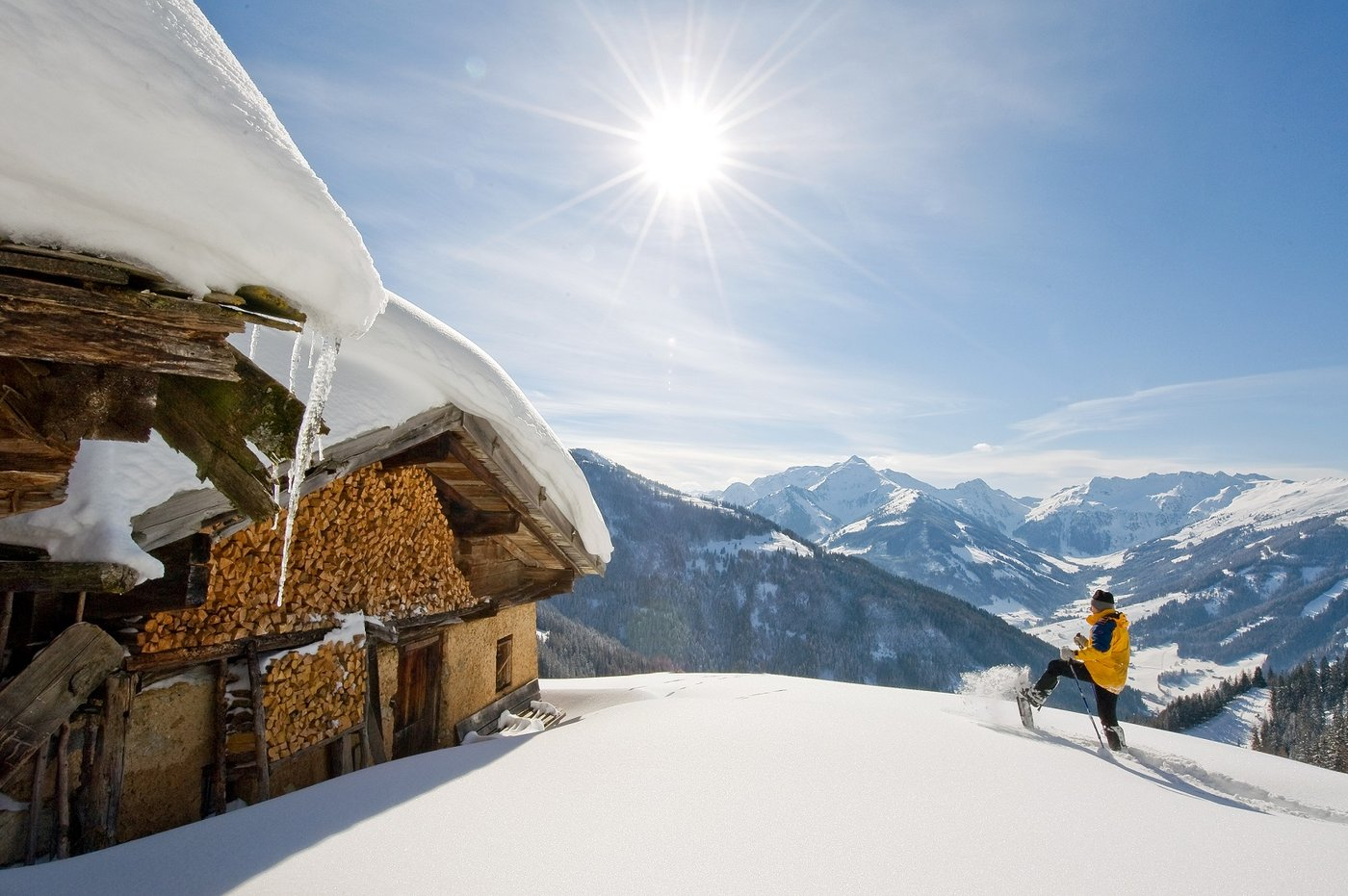 Schneeschuhwandern in Alpbach