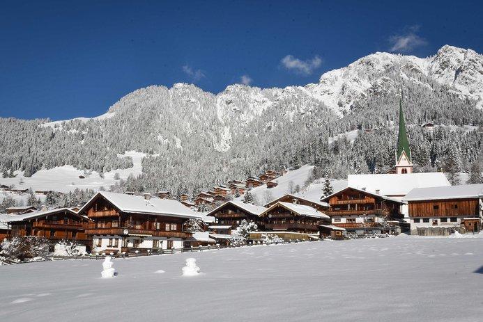 Alpbach in inverno