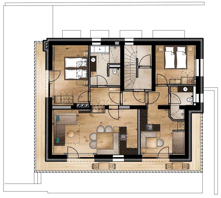 lodge iv zimmer preise luxus ferienwohnung alpbach lodge chalet alpbachtal tirol. Black Bedroom Furniture Sets. Home Design Ideas