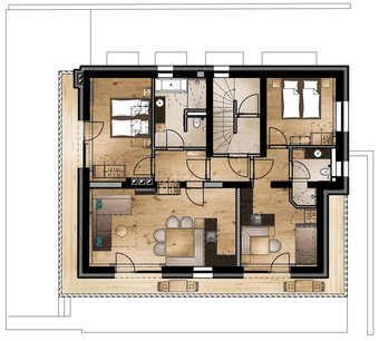 Plan Alpbach Lodge III