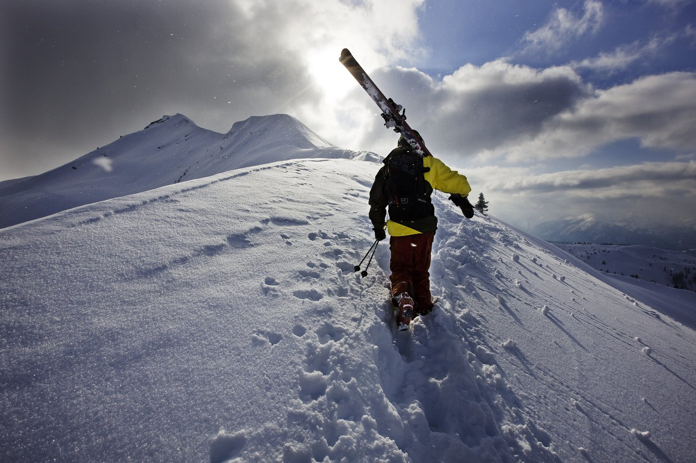 Sci alpinismo in Alpbach